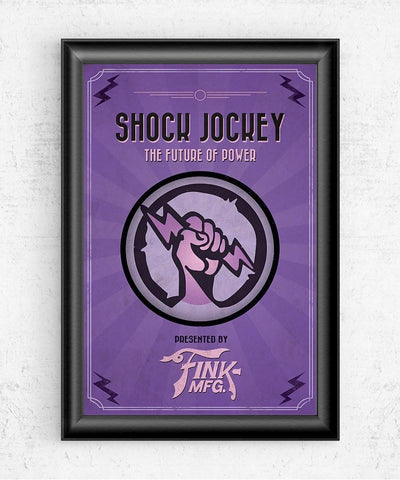 Bioshock Vigor Shock Jockey Posters- The Pixel Empire