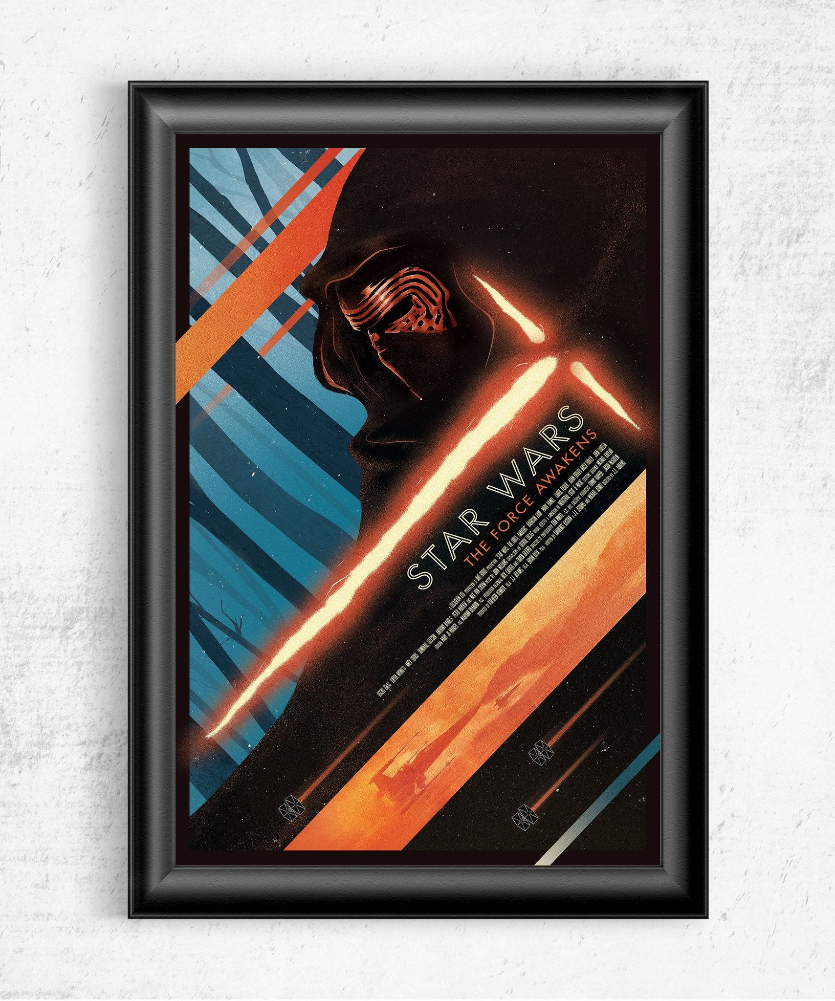 Star Wars The Force Awakens Posters by Dylan West - Pixel Empire