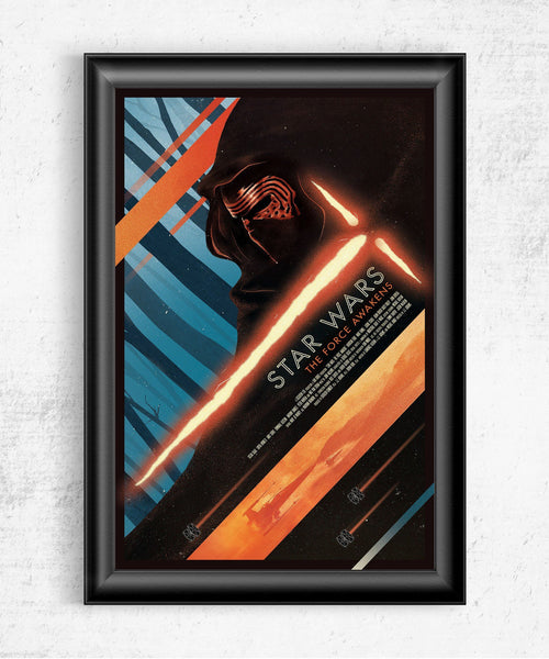 Star Wars The Force Awakens Posters by The Pixel Empire - Pixel Empire