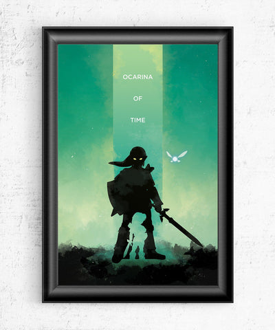 The Legend of Zelda - Ocarina of Time Posters- The Pixel Empire