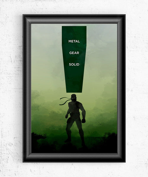 Metal Gear Solid Posters by The Pixel Empire - Pixel Empire