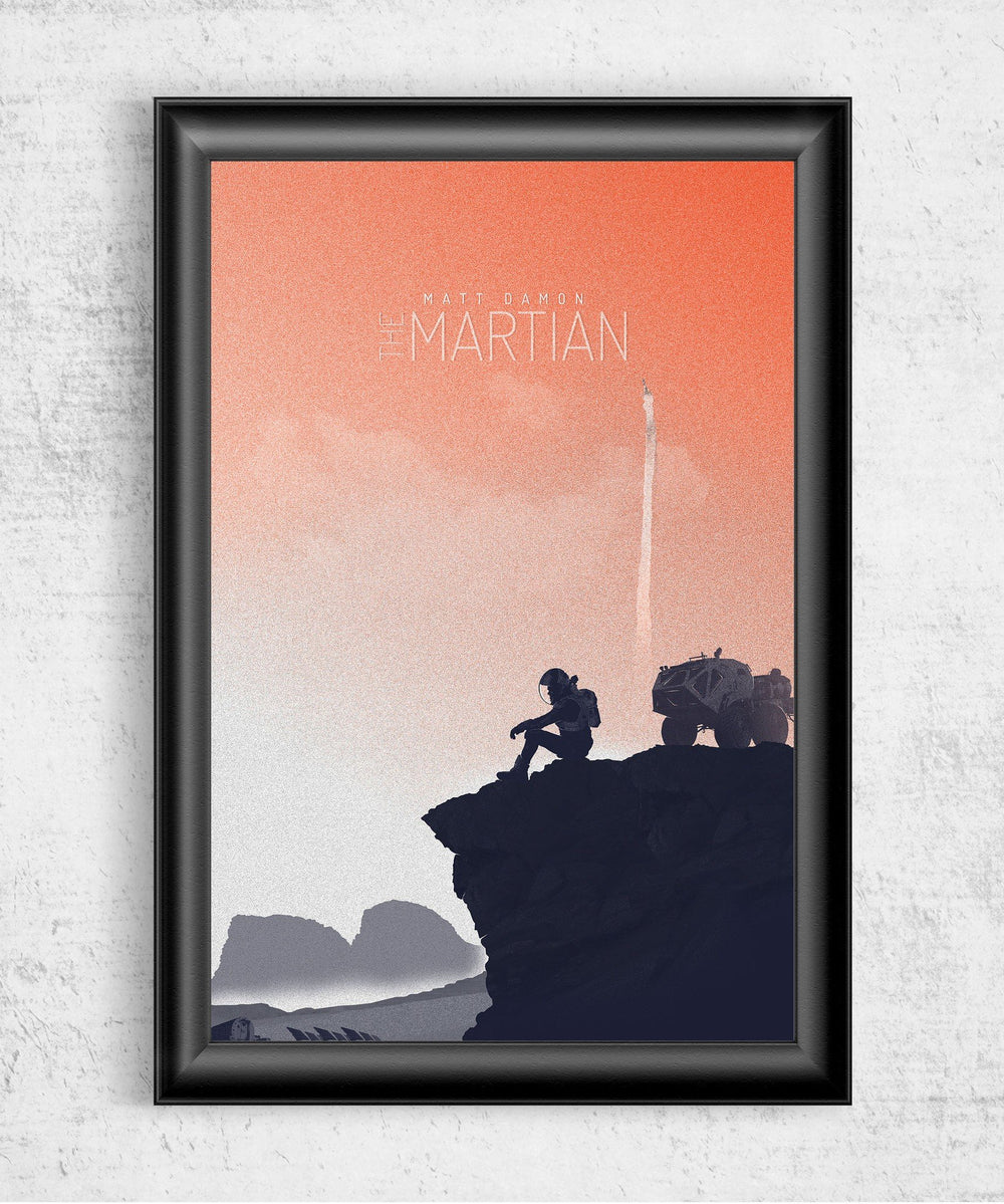 The Martian Posters by Felix Tindall - Pixel Empire