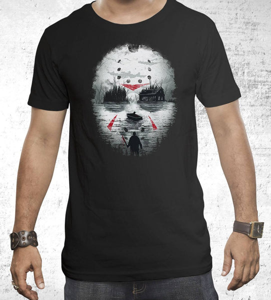 Friday Night Terror Men's Shirt by Dan Elijah Fajardo - Pixel Empire