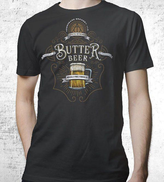 Butterbeer Men's Shirt by Barrett Biggers - Pixel Empire