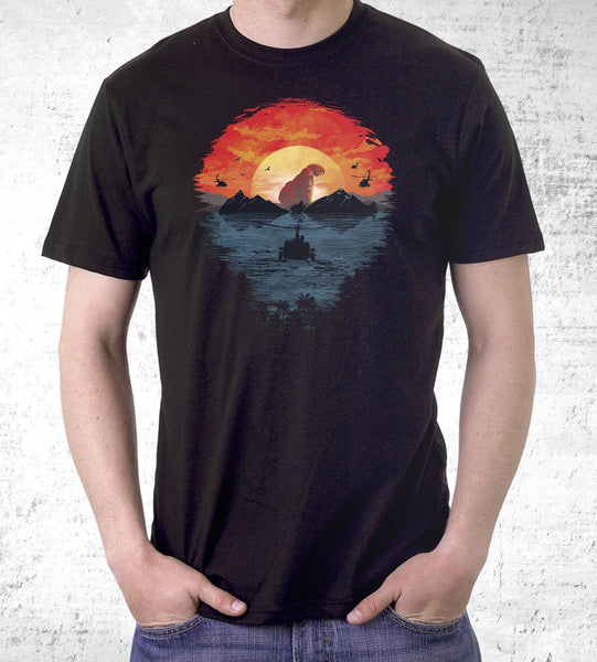 Skull Island Men's Shirt by Dan Elijah Fajardo - Pixel Empire