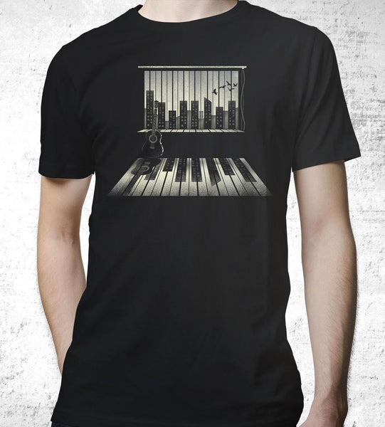 Music is Life Men's Shirt by Dan Elijah Fajardo - Pixel Empire