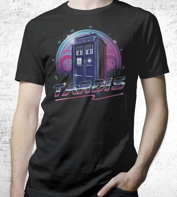 Rad Tardis T-Shirts by Vincent Trinidad - Pixel Empire