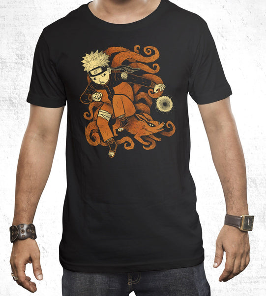 Nine Tails Men's Shirt by Louis Roskosch - Pixel Empire