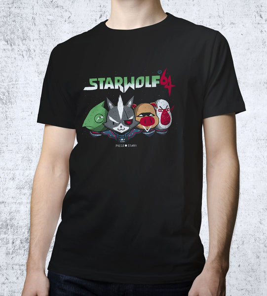 Starwolf Men's Shirt by Louis Roskosch - Pixel Empire