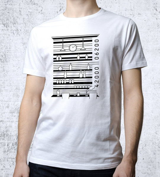 Barcode Men's Shirt- The Pixel Empire