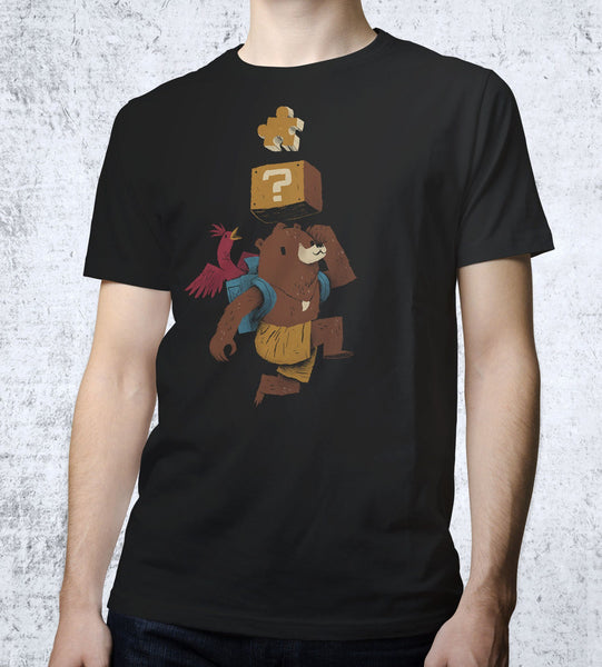 Puzzle Power Up T-Shirts by Louis Roskosch - Pixel Empire