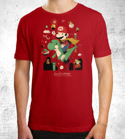 Platformer Men's Shirt- The Pixel Empire