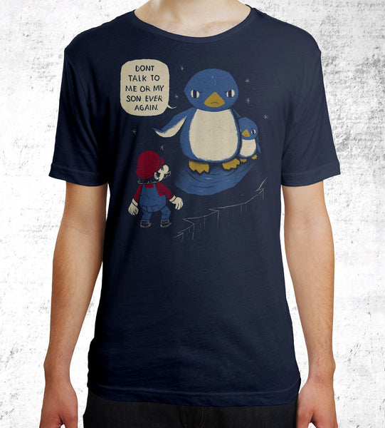 Don't Talk to Me or My Son Men's Shirt by Louis Roskosch - Pixel Empire