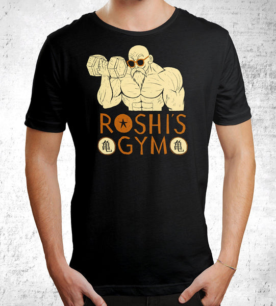 Roshi's Gym Men's Shirt by Louis Roskosch - Pixel Empire