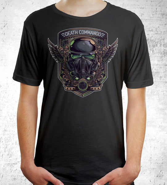 Death Commando Men's Shirt- The Pixel Empire