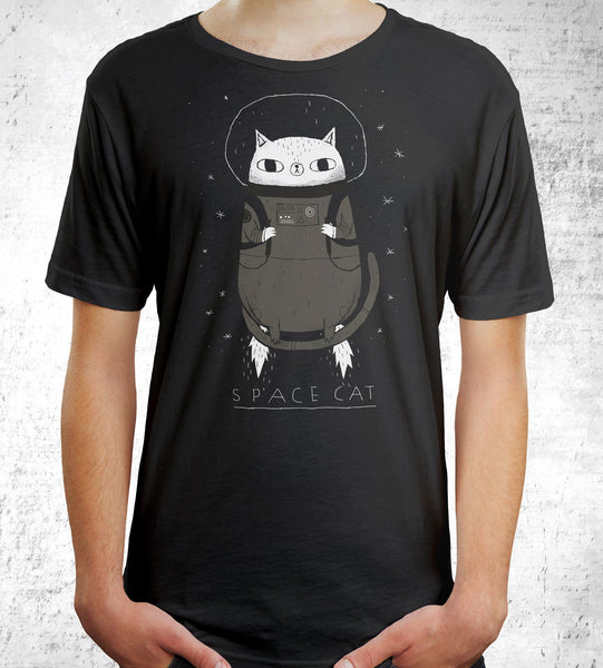 Space Cat Men's Shirt by Gooten - Pixel Empire