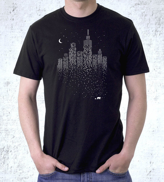 Polar City Men's Shirt by Grant Shepley - Pixel Empire