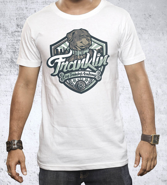 Franklin Dog Academy Men's Shirt- The Pixel Empire