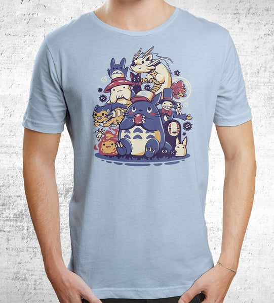 Creatures Spirits And Friends Men's Shirt by Ilustrata - Pixel Empire