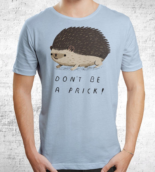 Don't Be A Prick Men's Shirt by Louis Roskosch - Pixel Empire