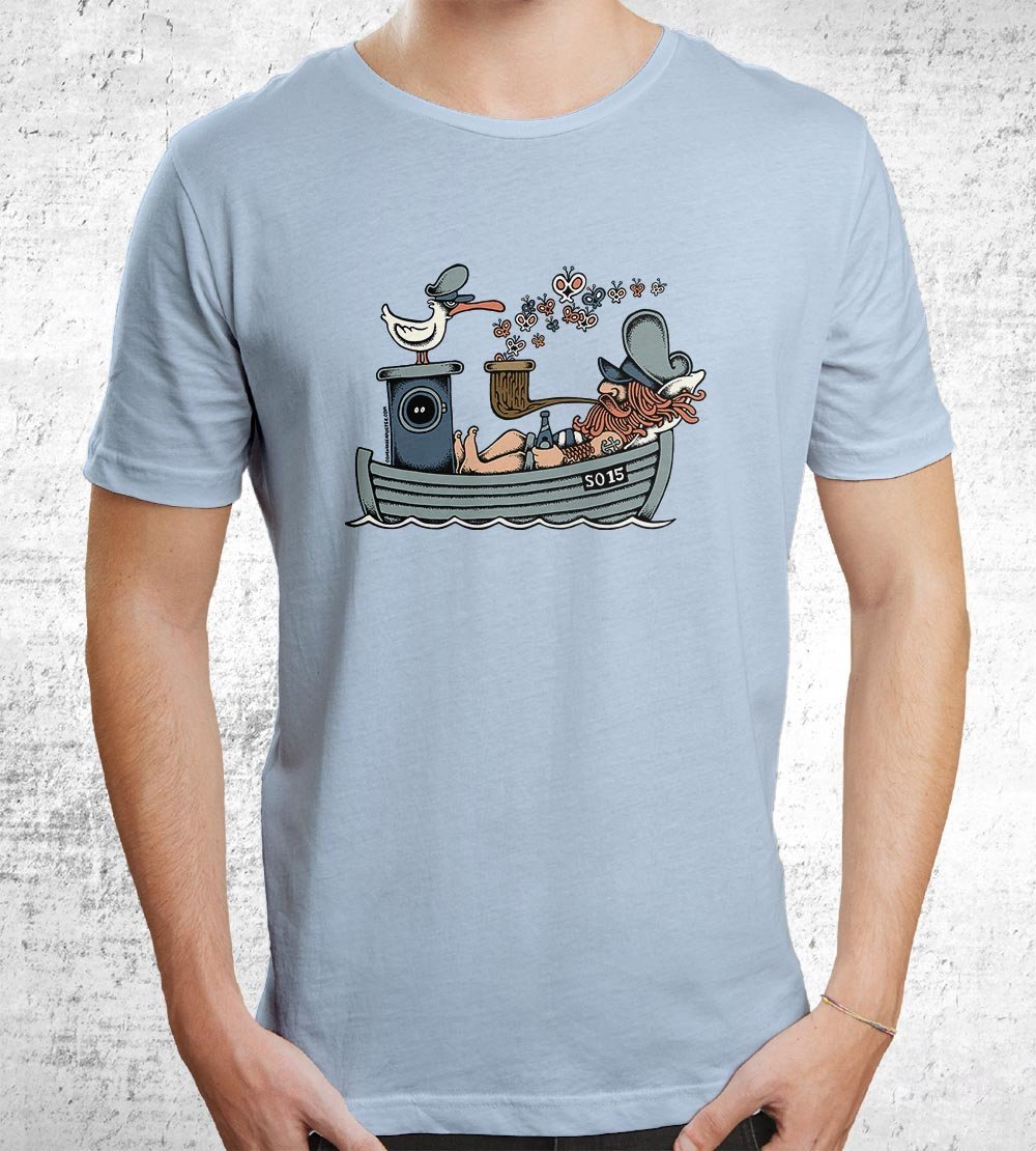 Butterfly Ship T-Shirts by Copenhagen Poster - Pixel Empire