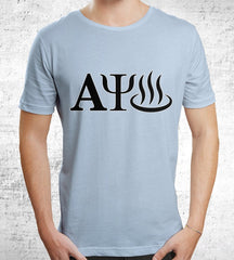 Alpha Menorah Javascript T-Shirts by Scott The Woz - Pixel Empire