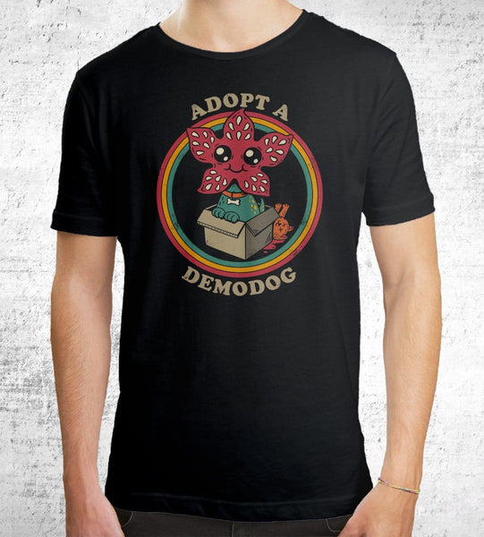 Adopt A Demodog Men's Shirt by Eduardo San Gil - Pixel Empire