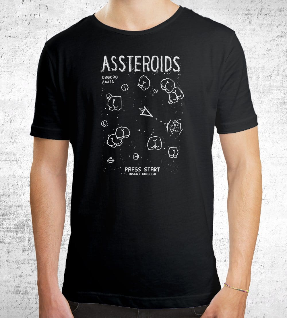 Assteroids T-Shirts by Ronan Lynam - Pixel Empire