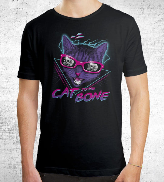 Cat to the Bone Men's Shirt by Vincent Trinidad - Pixel Empire