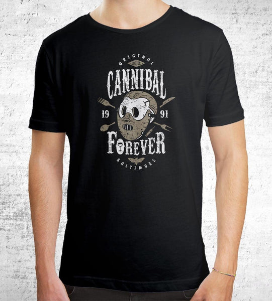 Cannibal Forever Men's Shirt by Olipop - Pixel Empire