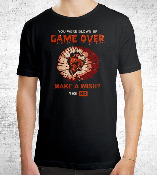 Game Over Yamcha T-Shirts by Cod Designs - Pixel Empire