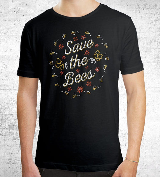 Save The Bees T-Shirts by Ronan Lynam - Pixel Empire