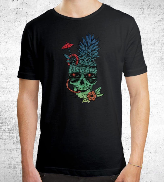 Muerte Colada Men's Shirt by Daniel Teres - Pixel Empire
