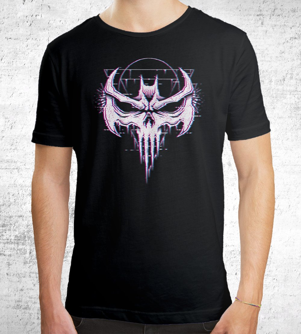 Batskull T-Shirts by Studiom6 - Pixel Empire