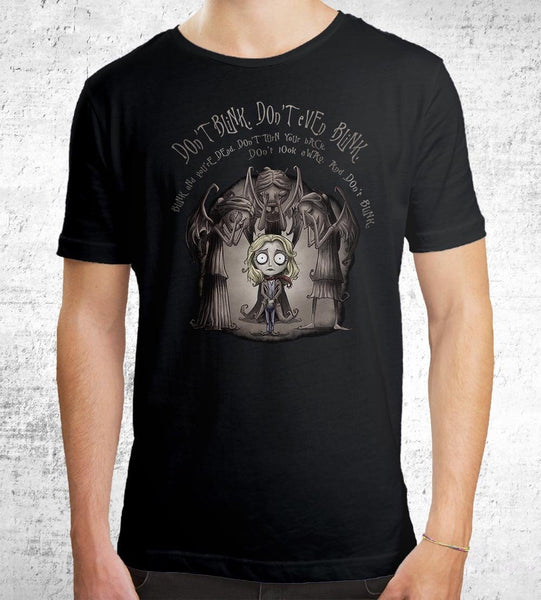 Don't Blink Men's Shirt by Saqman - Pixel Empire