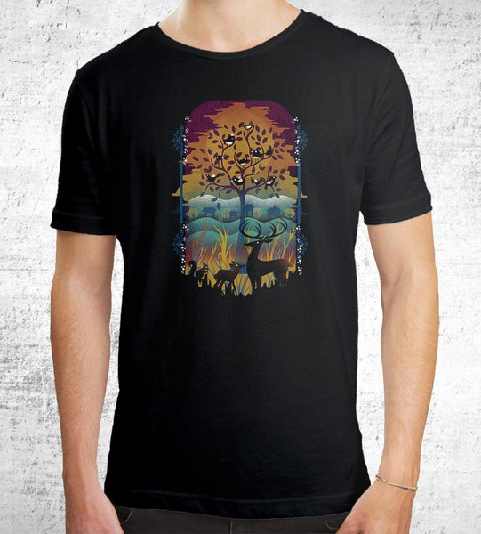 Natural Wonders T-Shirts by Dan Elijah Fajardo - Pixel Empire