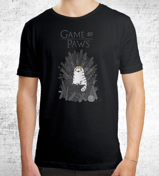 Game of Paws Men's Shirt by Anna-Maria Jung - Pixel Empire