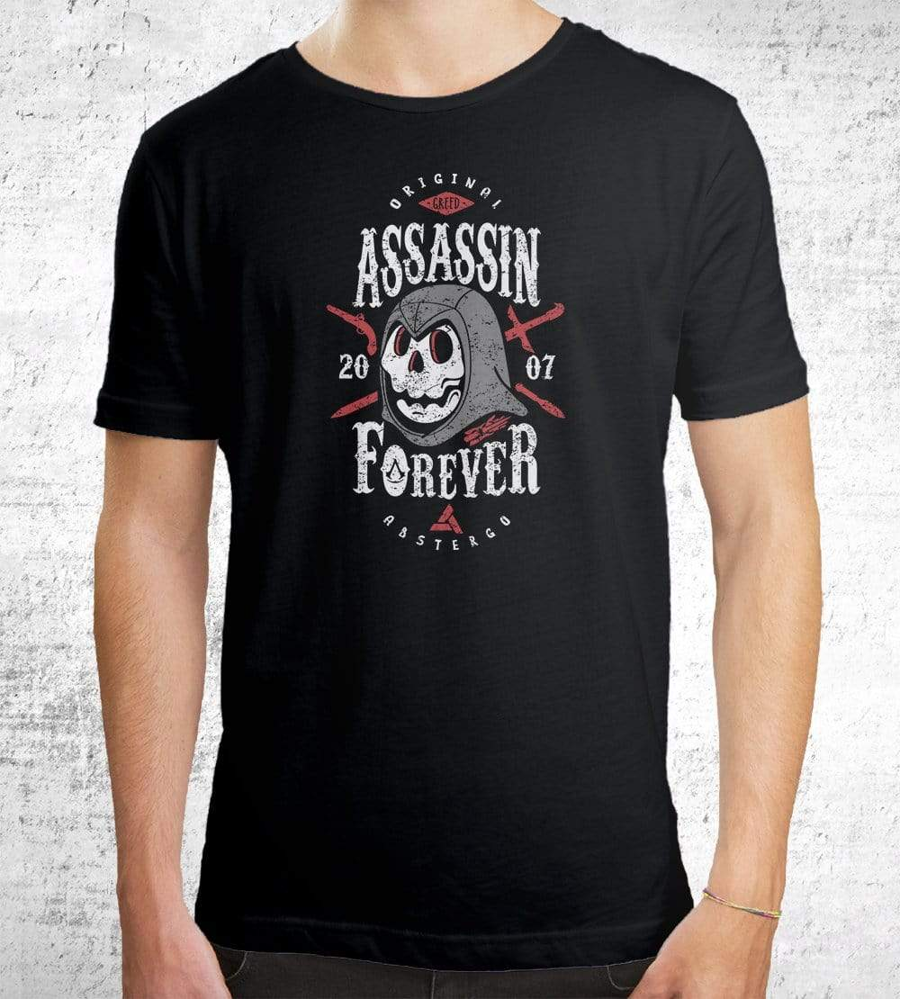 Assassin Forever T-Shirts by Olipop - Pixel Empire