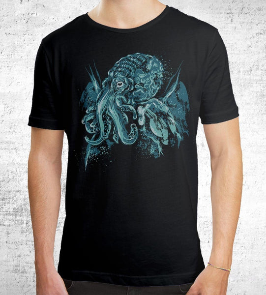 A God Beyond the Sea Men's Shirt by Dr. Monekers - Pixel Empire