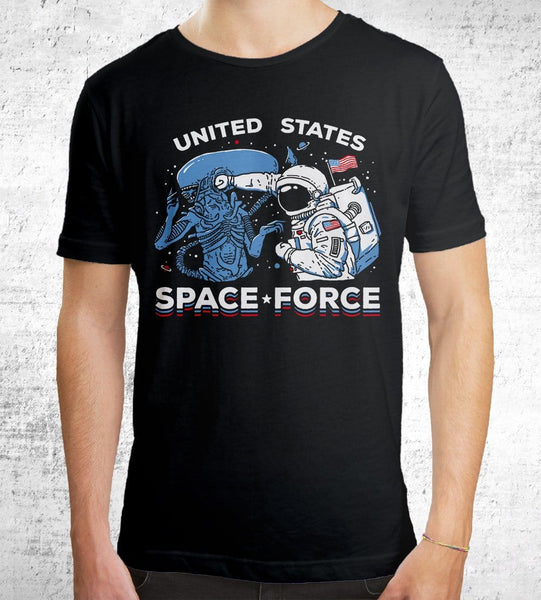 Space Force Men's Shirt by Ronan Lynam - Pixel Empire