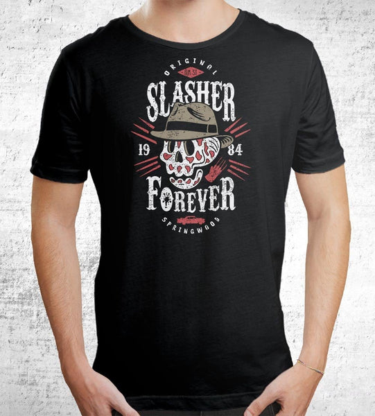 Slasher Forever Men's Shirt by Olipop - Pixel Empire