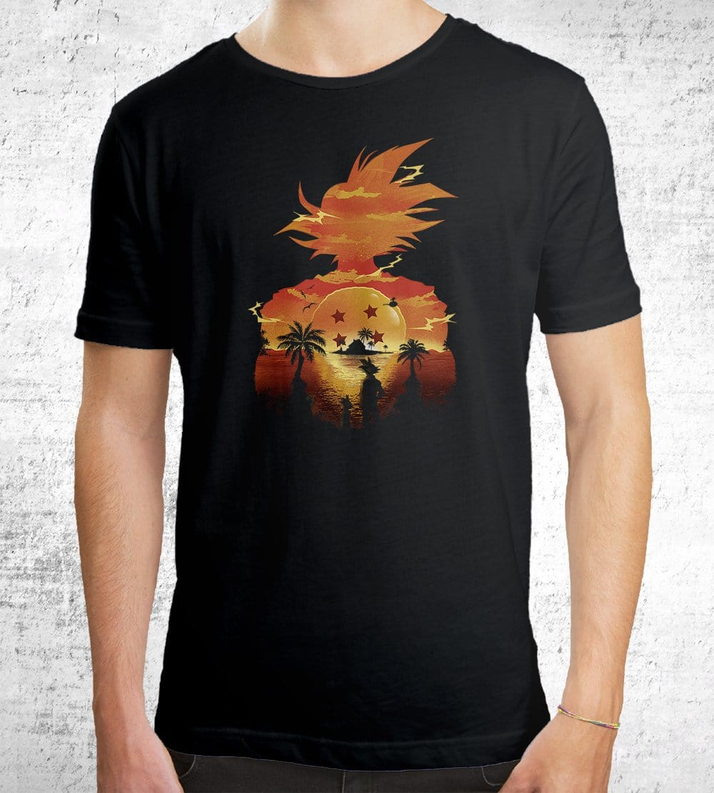 Beautiful Sunset T-Shirts by Dan Elijah Fajardo - Pixel Empire
