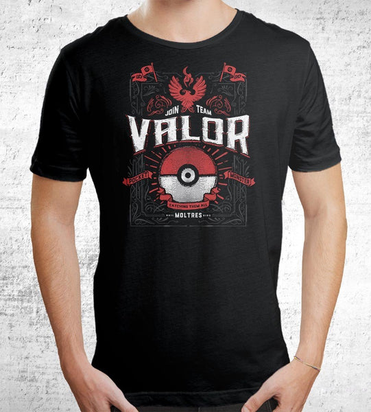 Team Valor Men's Shirt by Barrett Biggers - Pixel Empire