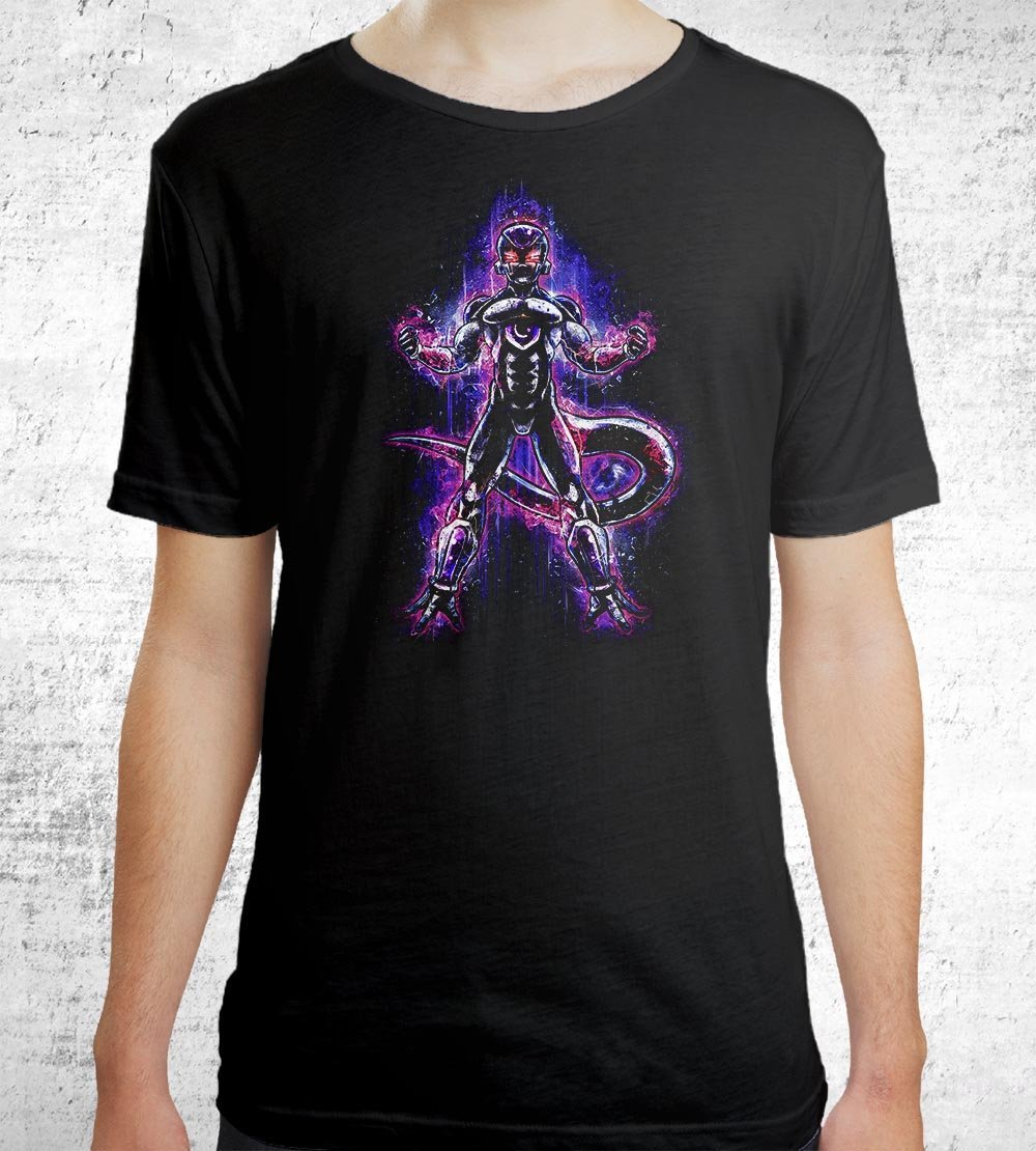 Frieza T-Shirts by Barrett Biggers - Pixel Empire