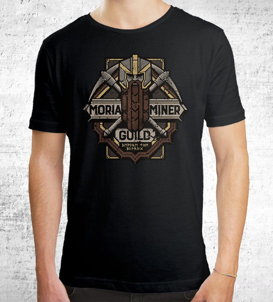 Moria Miner Guild Men's Shirt by Cory Freeman Design - Pixel Empire
