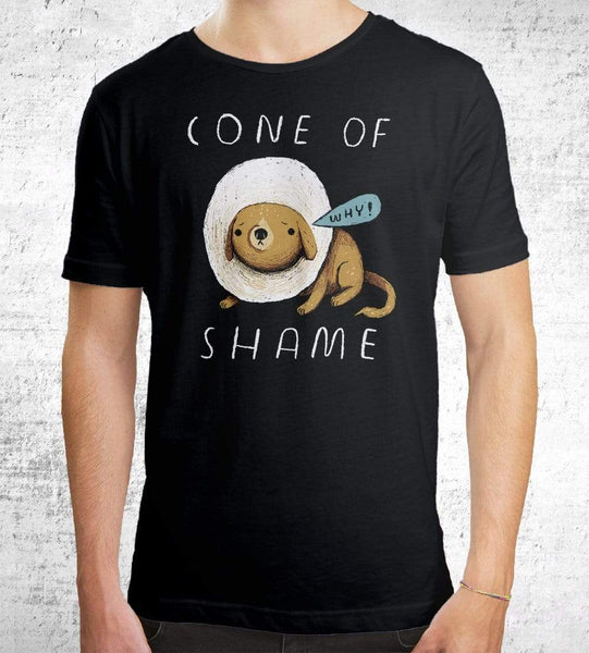 Cone Of Shame Men's Shirt by Louis Roskosch - Pixel Empire