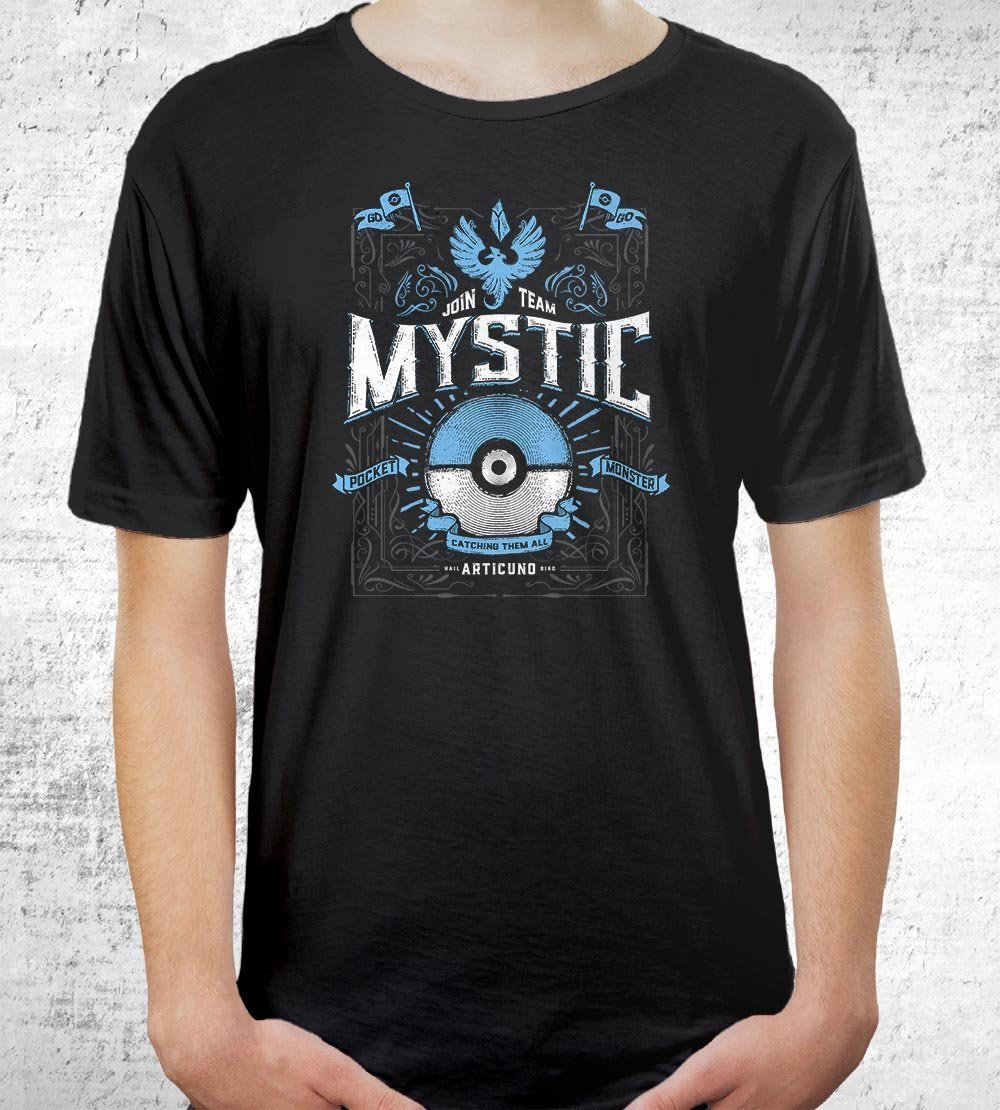 Team Mystic T-Shirts by Barrett Biggers - Pixel Empire