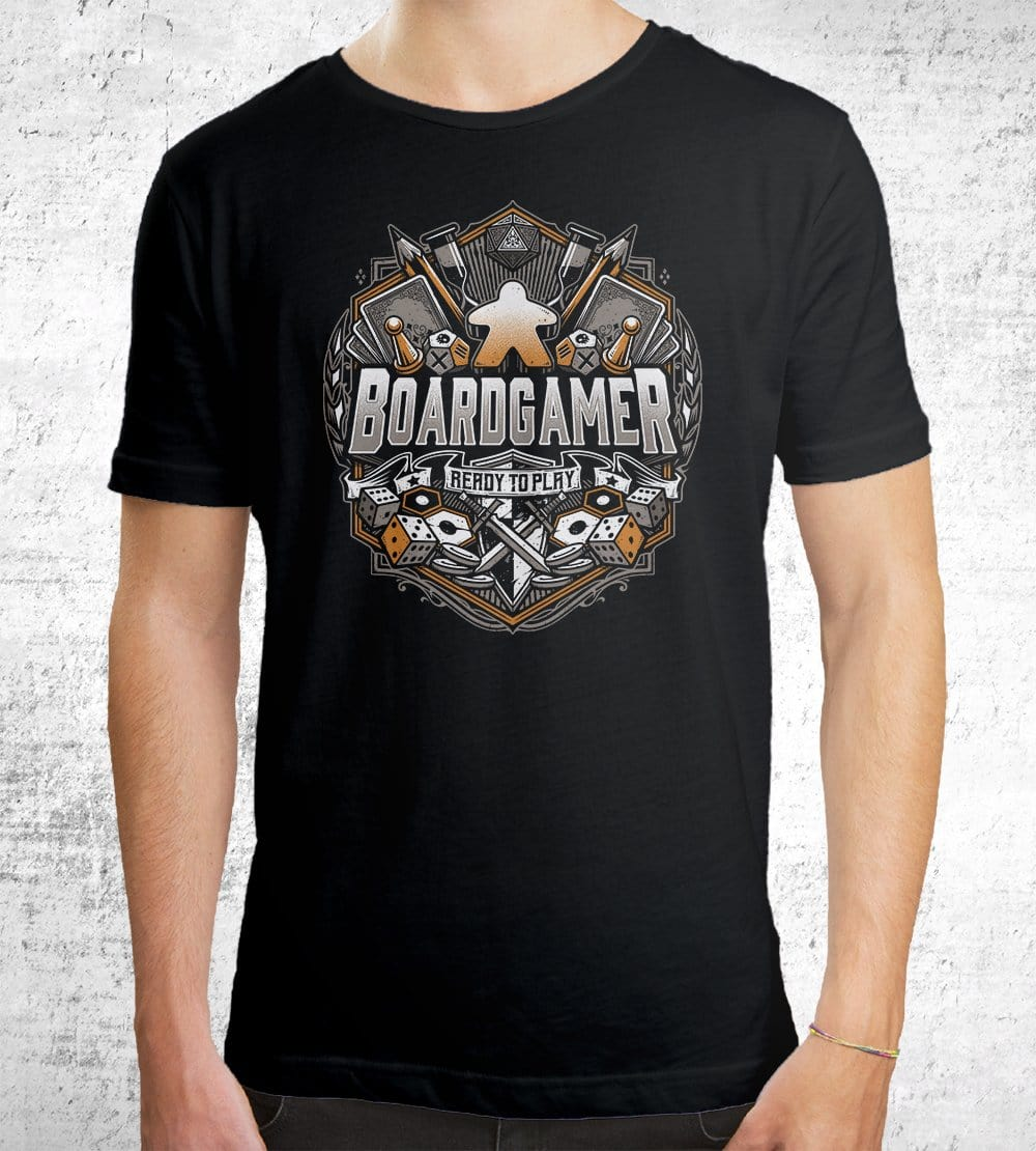 Boardgamer T-Shirts by StudioM6 - Pixel Empire