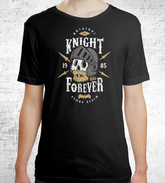 Knight Forever Men's Shirt by Olipop - Pixel Empire