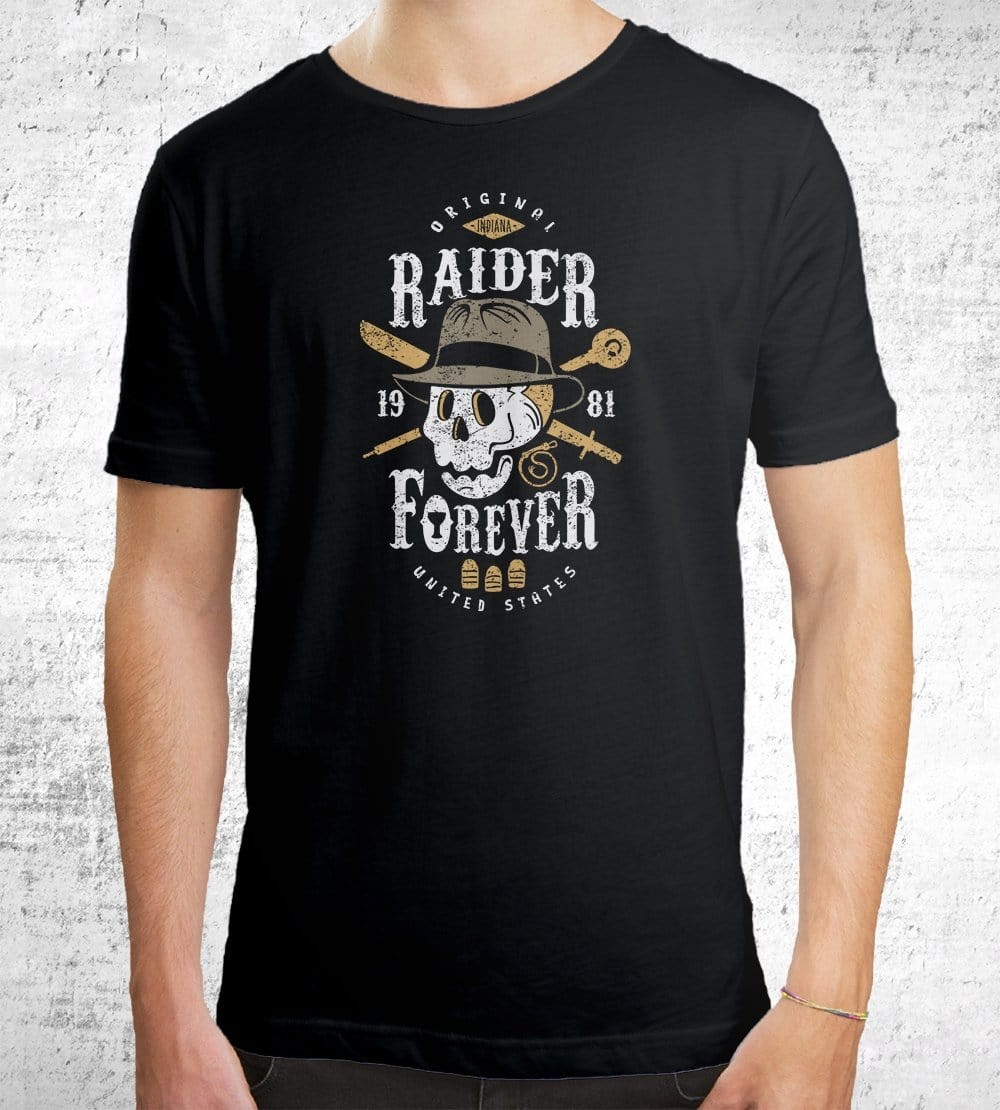 Raider Forever T-Shirts by Olipop - Pixel Empire